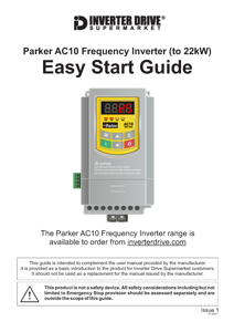Parker AC10 Easy Start Guide (to 22kW)