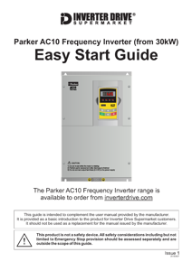 Parker AC10 Easy Start Guide (from 30kW)