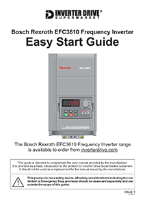 Bosch Rexroth EFC3610 Easy Start Guide