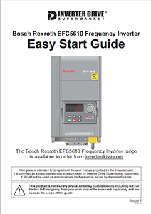 Bosch Rexroth EFC5610 Easy Start Guide