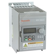 Photo of Bosch Rexroth EFC3610 0.37kW 230V 1ph to 3ph AC Inverter Drive, HMI, DBr, C3 EMC