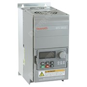 Photo of Bosch Rexroth EFC3610 1.5kW 230V 1ph to 3ph AC Inverter Drive, HMI, DBr, C3 EMC