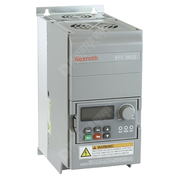 Photo of Bosch Rexroth EFC3610 1.5kW 400V 3ph AC Inverter Drive, HMI, DBr, C3 EMC