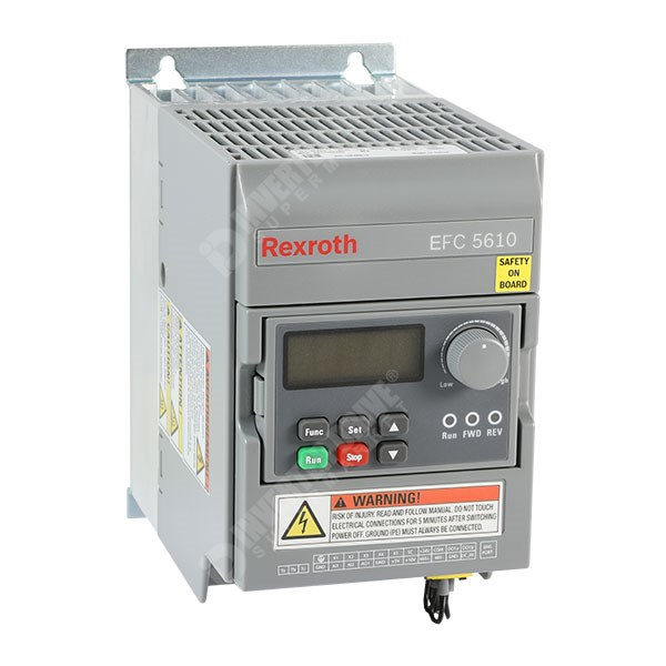Photo of Bosch Rexroth EFC5610 0.37kW 400V 3ph AC Inverter Drive, HMI, DBr, STO, C3 EMC