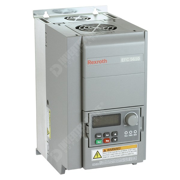 Photo of Bosch Rexroth EFC5610 3kW 400V 3ph AC Inverter Drive, HMI, DBr, C3 EMC