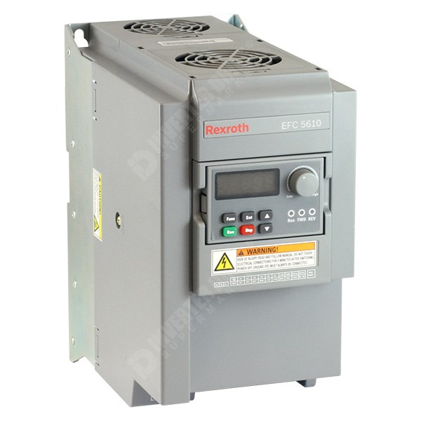Photo of Bosch Rexroth EFC5610 7.5kW 400V 3ph AC Inverter Drive, HMI, DBr, C3 EMC